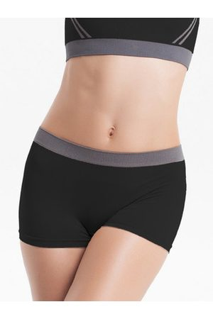 Newchic Sexy Seamless Quick-dry Elastic Sports Shorts Breathable Running Boyshorts For Women