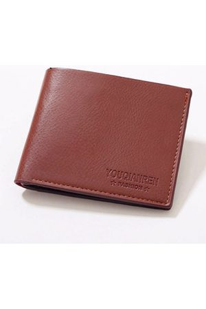 Newchic Large Capacity Pu Leather Short Wallet Credit Card Holder Change Purse For Man