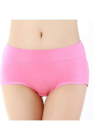 Newchic Women Hipsters - Mid Waist Hipster Cotton Super Soft Stretched Comfy Panties Briefs