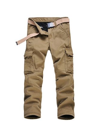 Newchic Winter Thick Warm Cargo Pants