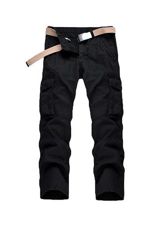 Newchic Men Cargo Pants - Mens Multi-pocket Casual Cotton Cargo Pants