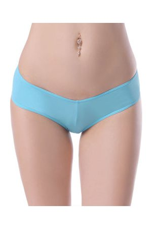 Newchic Sexy Hips Up Seamless Breathable Panties Low Waist Underwear For Women