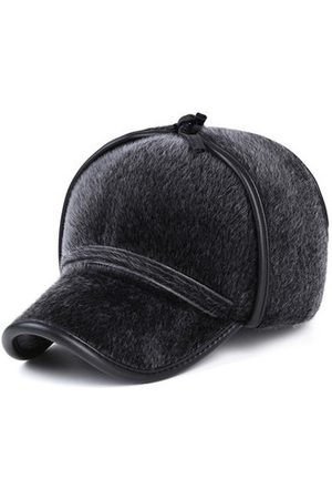 Newchic Men Caps - Mens Faux Mink Fur Earmuffs Baseball Cap