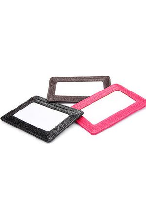 Newchic RFID Antimagnetic Woman Purse Wallet 4 Card Holders Cow Leather Man Card Storage Bag
