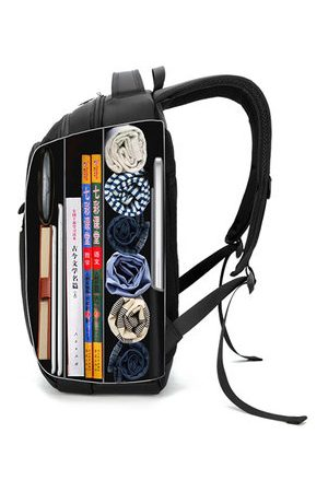 Newchic 15.6'' Laptop Compartment Travel Backpack Big Capacity Waterproof Oxford Bag For Men