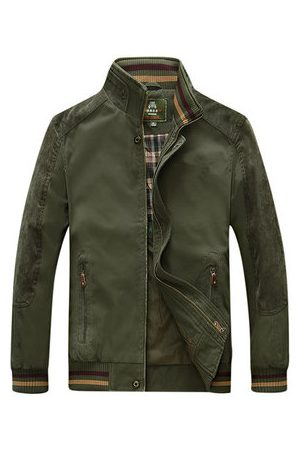 Newchic Autumn Military Outdoor Business Jacket for Men