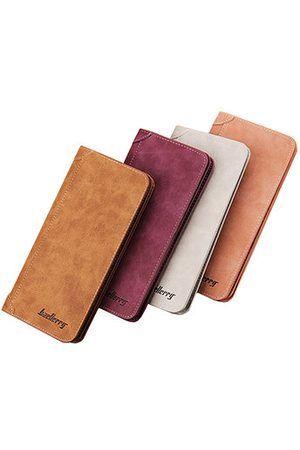 Newchic 11 Card Slots Card Holder PU Leather Vintage Casual Wallet Vertical Coin Purse For Men