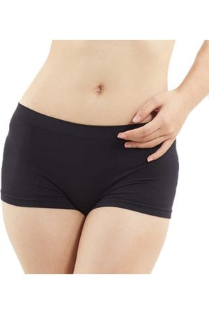 Newchic Comfortable Seamfree Breathable Stretchy Boyshorts Mid Waist Sports Panties For Women