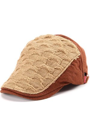 Newchic Knitted Beret Cap For Men
