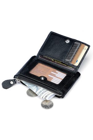 Newchic 5 Card Slots Card Holder Wallet Coin Purse