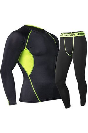 Newchic Training Bodybuilding Suit Tops Quick-drying Elastic Tight Long Sleeve T-shirt for Men