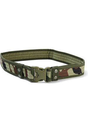 Newchic 130CM Mens Camouflage Military Army Tactical Belt Swat Combat Hunting Outdoor Sports Belt