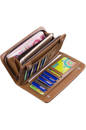 Newchic Practical 3-in-1 Wallet Bag 13 Card Slots Card Holder PU Leather Big Capacity Phone Bag