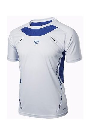 Newchic Men's Sports shirts Professional Football shirts Quick Dry Breathable T-shirts