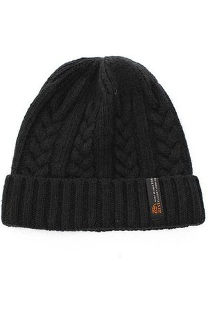 Newchic Mens Boy Crochet Braided Knit Warm Beanie Wool Cuff Hat Ski Cap