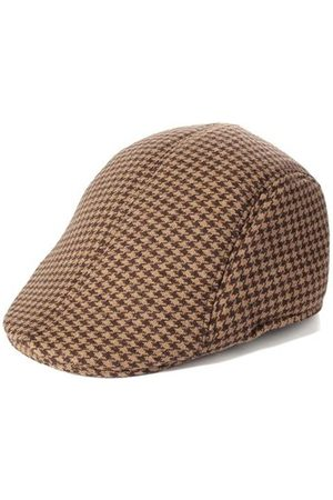 Newchic Men's Cotton Blend Winter Warm Gatsby Duckbill Ivy Hat Golf Driving Newsboy Cap