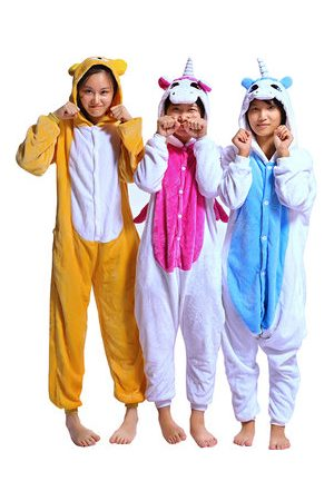 Newchic Animal Unicorn Jumpsuits Pajamas