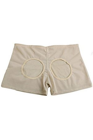 Newchic Women Shorts - Plus Size Women Sexy Hollow Butt Shaper Shorts Butt Lifter Boyshorts Shapewear