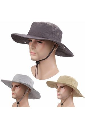 Newchic Men Hats - Men's Hunting Fishing Outdoor Military Wide Brim Caps Bucket Boonie Sun Hats