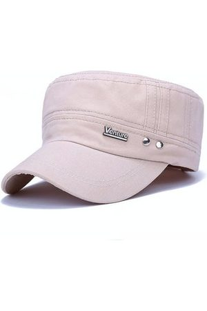 Newchic Men Plain Snapback Flat Baseball Cap Adjustable Outdoor Sport Hip-Hop Hat