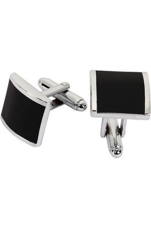 Newchic WSC Men Metal Series Stylish Cufflinks Enamel Square Shape Decoraction for Shirts Accessories