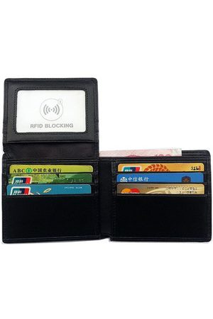 Newchic RFID Blocking Genuine Leather Wallet Magnetic Capacity Card Package