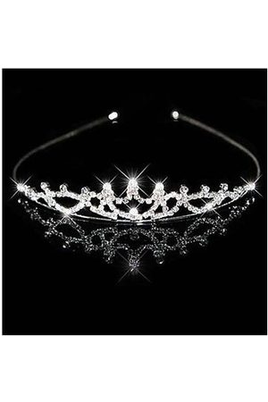Newchic Bridal Crown Headband Tiara Rhinestone Wedding Headpiece