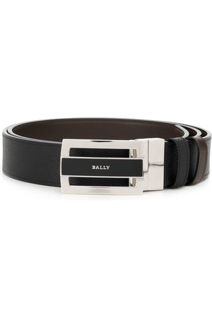 Bally Engraved logo belt
