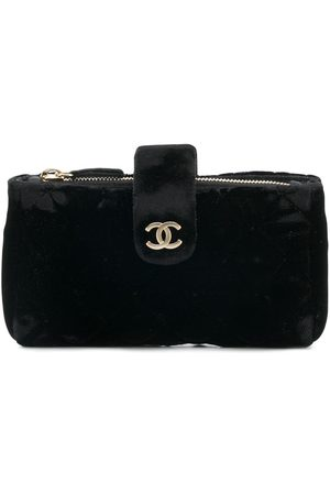 CHANEL Flurry open coin pouch