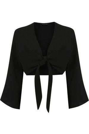Olympiah Lucca cropped blouse