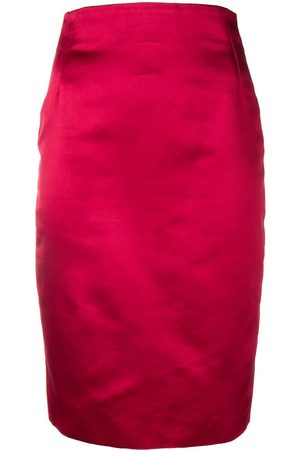 VERSACE 1990's fitted pencil skirt