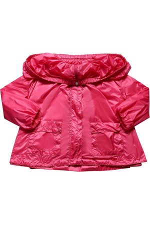 Moncler Girls Jackets - Macouria Hooded Nylon Jacket