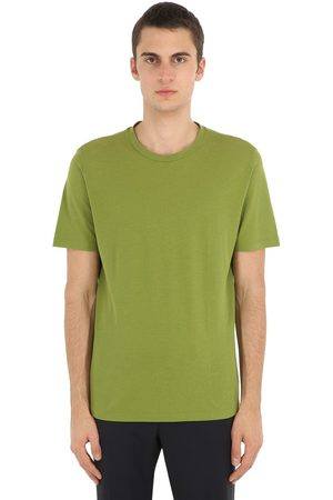 LARDINI Men T-shirts - Cotton Jersey T-shirt