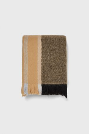 Zara Men Scarves - Check scarf