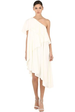 Lanvin Women Dresses - One Shoulder Ruffled Dress