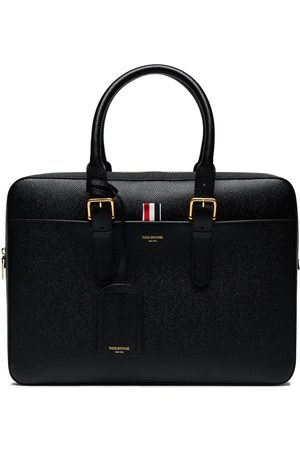 Thom Browne Men Suitcases & Luggage - Business Bag in Pebble Grain