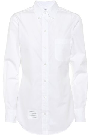 Thom Browne Women Long Sleeve - Cotton shirt