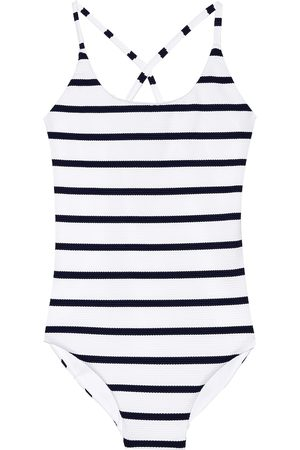Melissa Odabash Kids Swimming Costumes - Vicky striped swimsuit