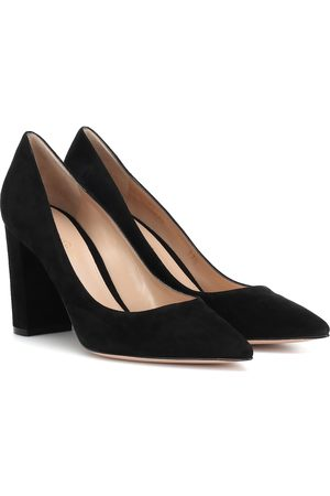 Gianvito Rossi Heels - Piper 85 suede pumps