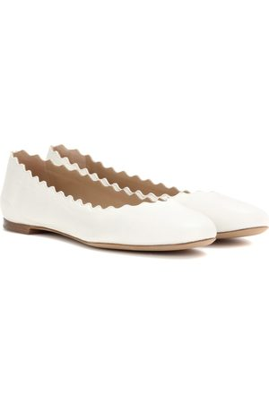 Chloé Lauren leather ballerinas