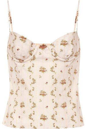 BROCK COLLECTION Oboe floral-printed cotton top