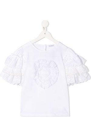 Dolce & Gabbana Ruffled sleeves T-shirt