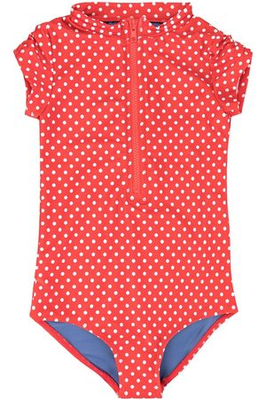Duskii Girl Anise dotted swimsuit