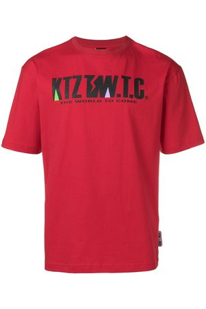 KTZ Mountain letter T-shirt