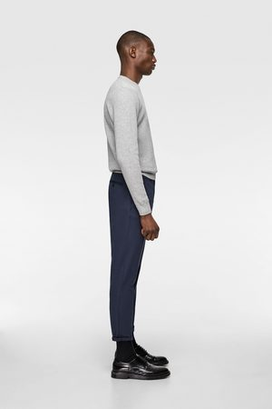 Zara Men Chinos - Chino trousers with textured weave