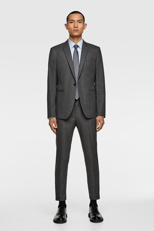 Zara Men Blazers - Textured suit blazer