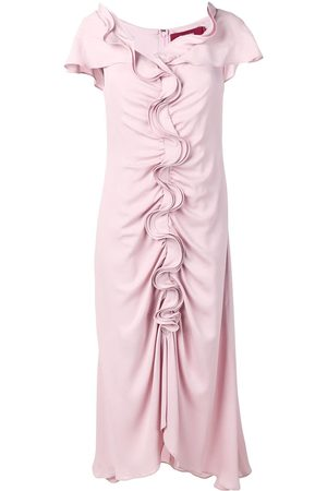 Sies marjan Ruffle flared dress