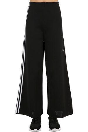 adidas Wide Leg Techno Track Pants