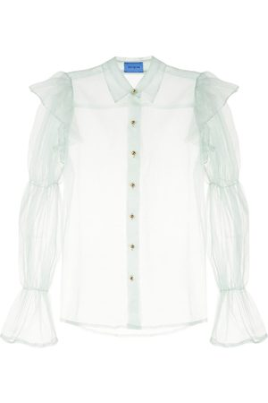 Macgraw Souffle sheer blouse