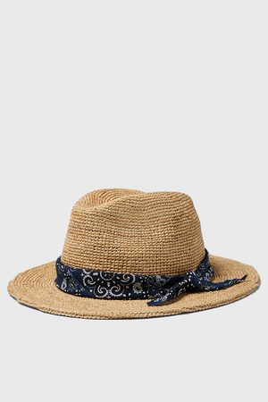 Zara Men Hats - Hat with contrast band